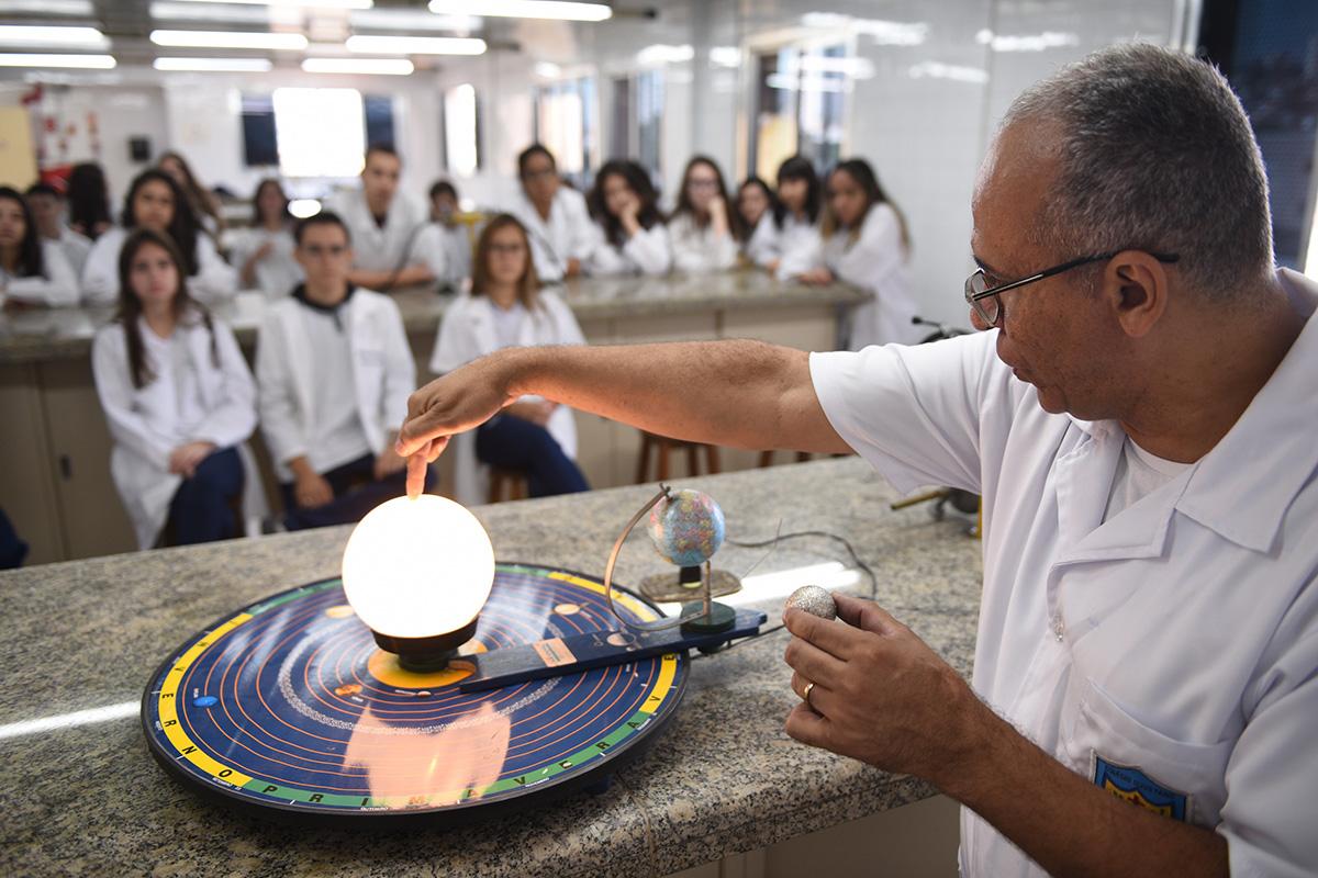 Laboratório Ciências